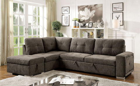 Risca - Sectional - Gray