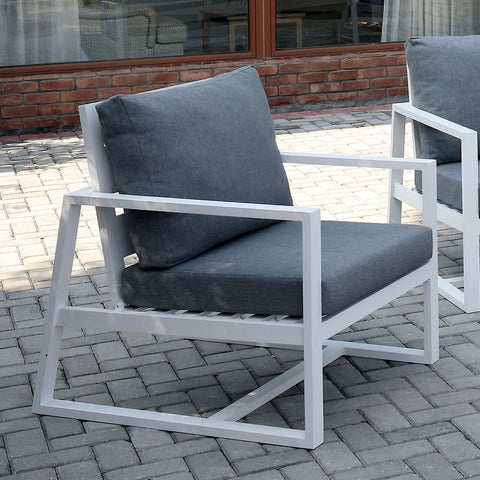 India - Arm Chair - Gray