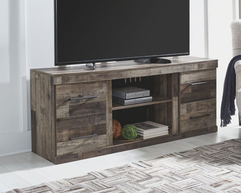 Derekson 4-Piece Entertainment Center with Electric Fireplace