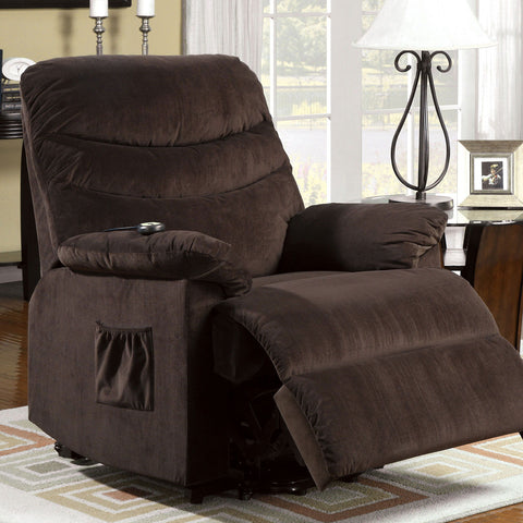 Perth - Power Recliner - Cocoa Brown