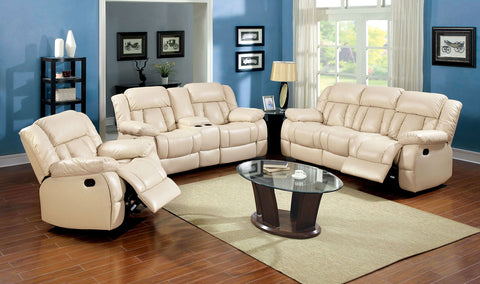 BARBADO - Sofa + Love Seat + Chair - Ivory