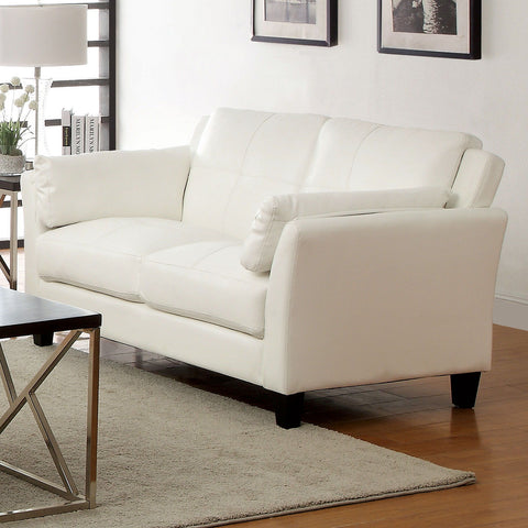 PIERRE - Sofa + Loveseat - White