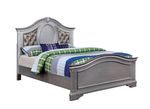 Claudia - Twin Bed - Silver