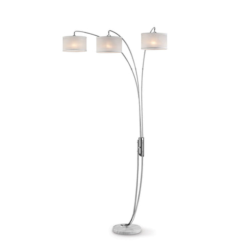 Leanne - Arch Lamp - Off-White