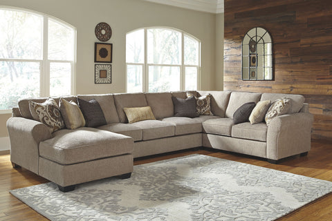 Pantomine Sectional with Chaise