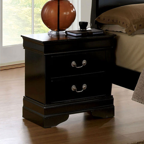 Louis Philippe - Night Stand - Black