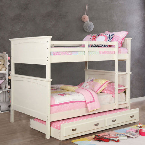 Marci - Full/ Full Bunk Bed - White