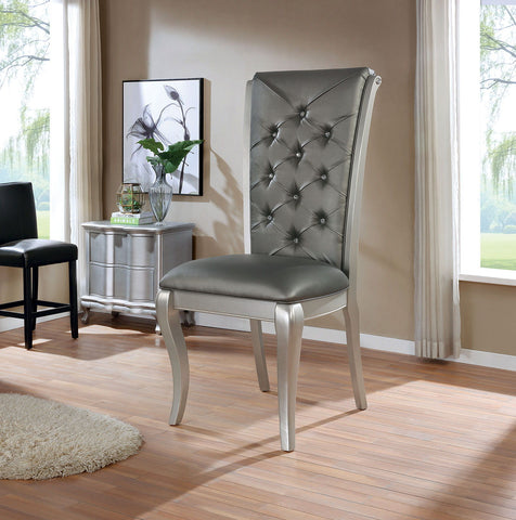 Amina - Oversized Display Chair - Champagne