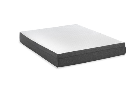 "10"" Medium Gel Infused Queen Memory Foam Mattress and Model Z Adjustable Bed Base"