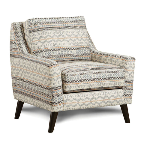 Eastleigh - Accent Chair - Tribal Multi