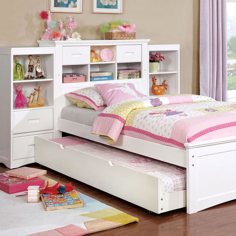 Pearland - Twin Bed - White