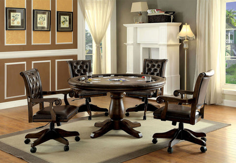Kalia - Game Table - Brown