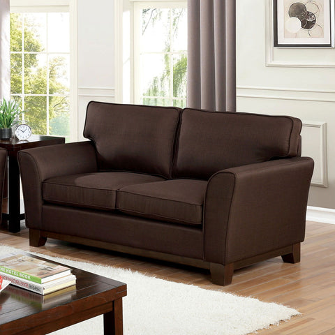 CALDICOT - Sofa + Loveseat - Brown