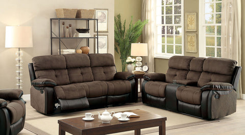 HADLEY I - Sofa + Love Seat + Chair - Brown