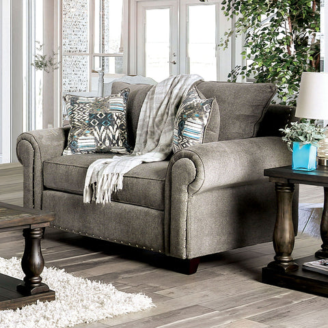 MOTT - Sofa + Loveseat - Gray