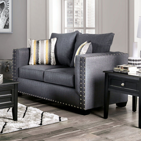 INKOM - Sofa + Loveseat - Slate