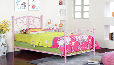 Alice - Twin Bed - Pink