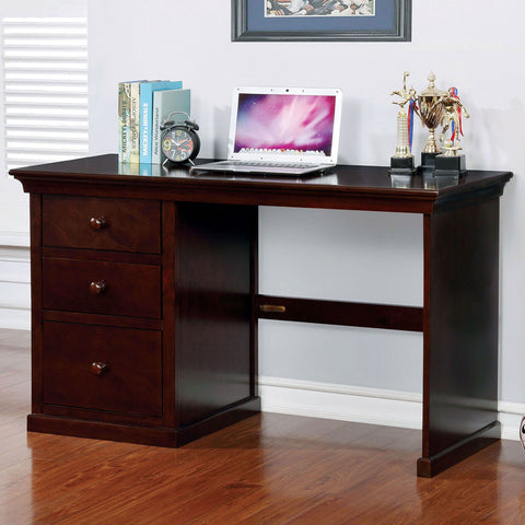 Dede - Small Desk - Dark Walnut