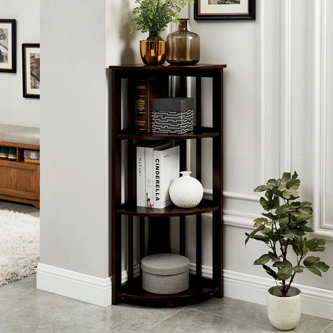 Gerraghty - Ladder Shelf - Dark Walnut