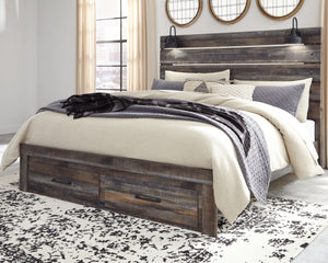Drystan Panel Bed with Storage