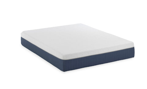 "12"" Medium Soft Gel Infused Queen Memory Foam Mattress and Model H Adjustable Bed Base"