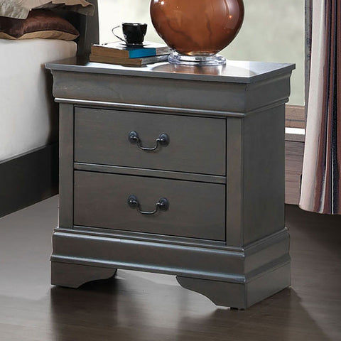 Louis Philippe - Night Stand - Gray