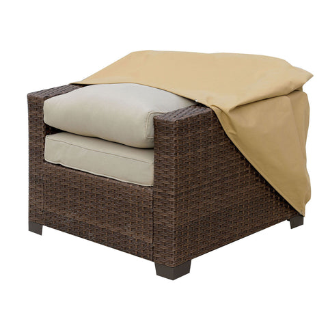 Boyle - Dust Cover for Chair - Small - Light Brown