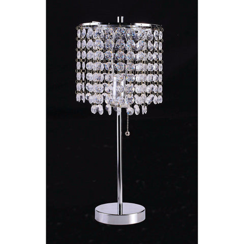 Perla - Table Lamp - Chrome