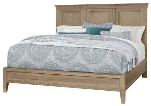 Queen Mansion Bed / Low Profile Footboard