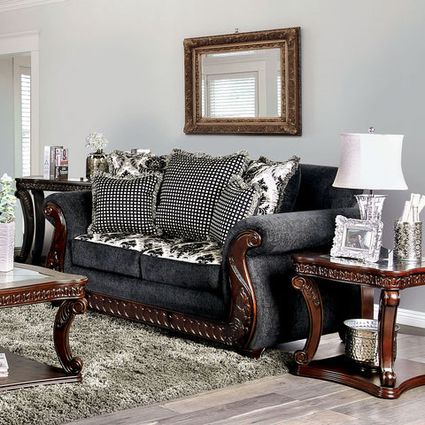 WHITLAND - Sofa + Loveseat - Gray