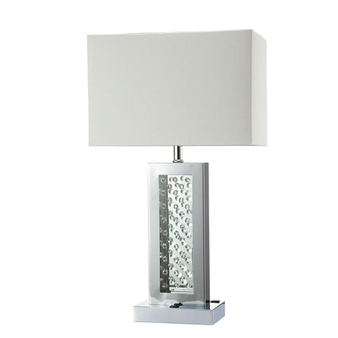 Abbi - Table Lamp - Chrome