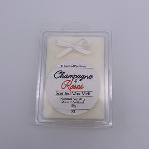 #001 Champagne & Roses Wax Melt