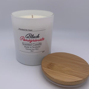 #004 Black Pomegranate 30cl Candle