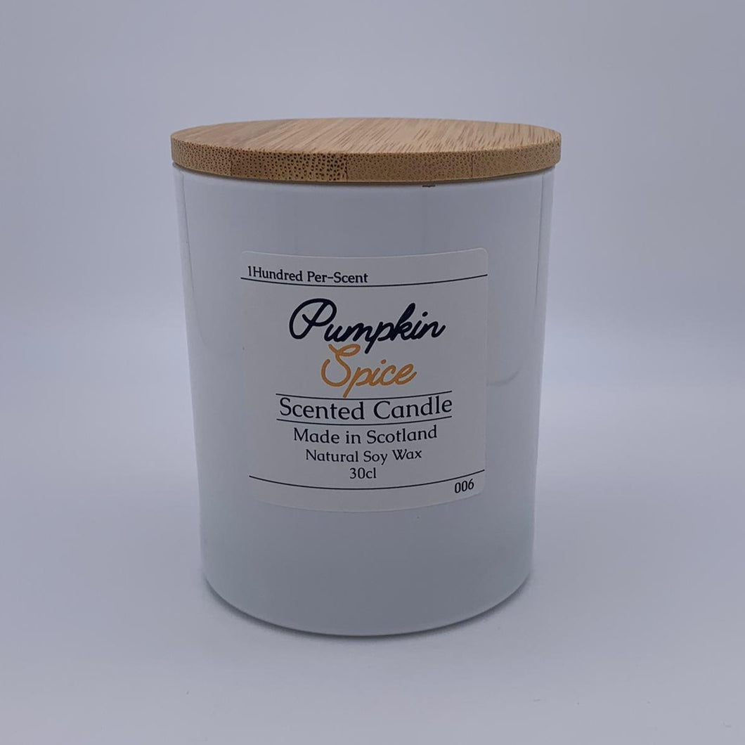 LIMITED EDITION #006 Pumpkin Spice 30cl Candle