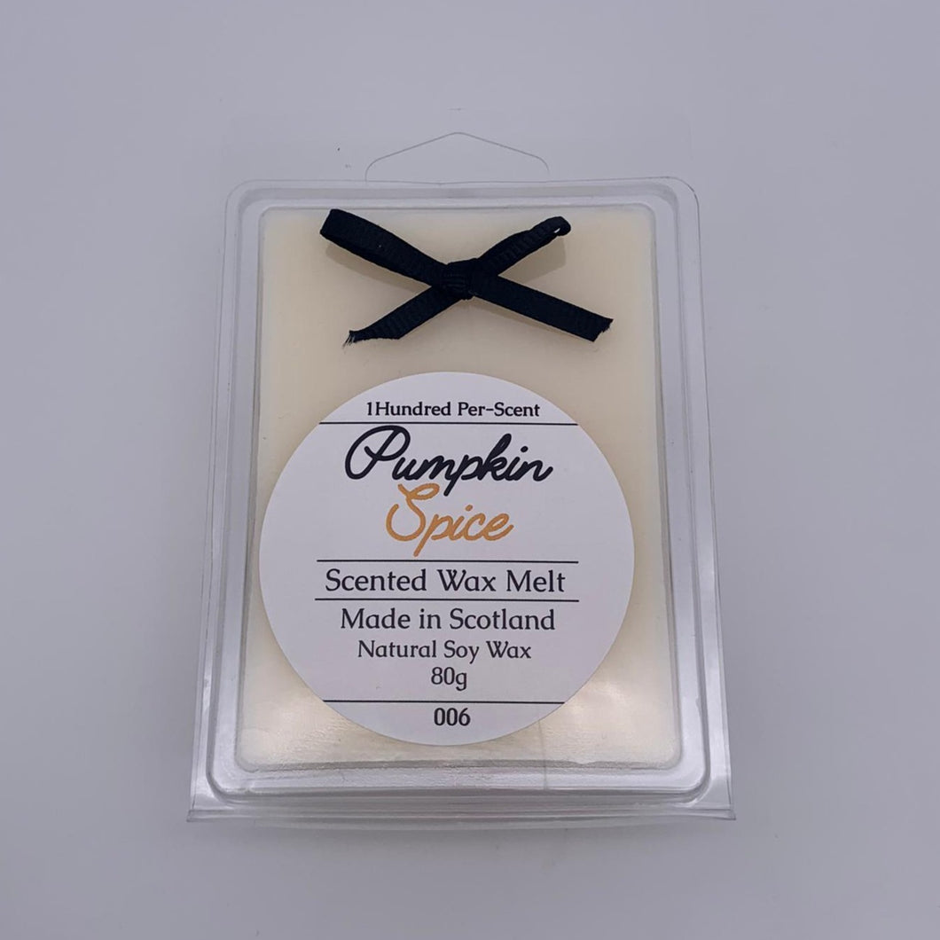 LIMITED EDITION #006 Pumpkin Spice Wax Melt