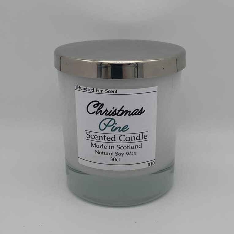 #010 Christmas Pine 30cl Candle