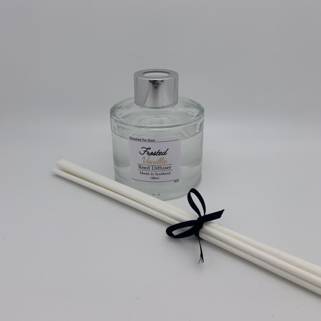 #012 Frosted Vanilla 100ml Reed Diffuser
