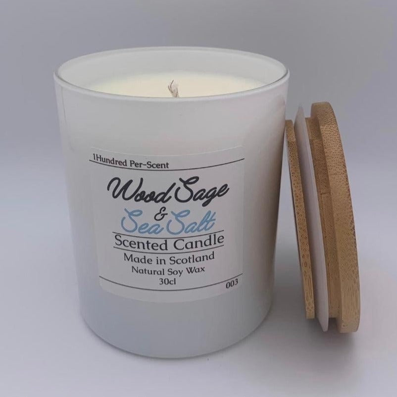 #003 Wood Sage & Sea Salt 30cl Candle