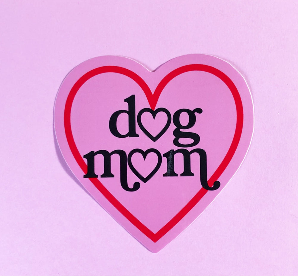 Load image into Gallery viewer, Dog Mom Sticker