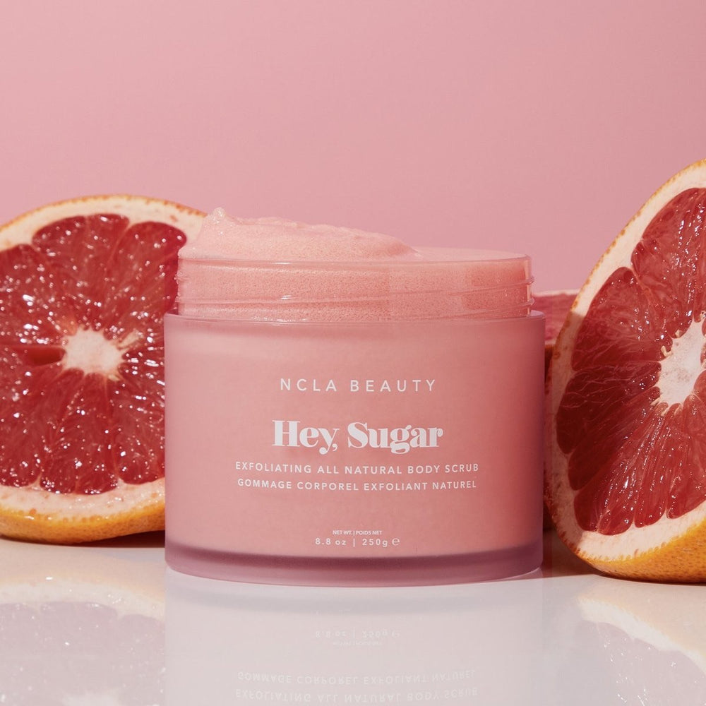 Hey, Sugar Pink Grapefruit Body Scrub