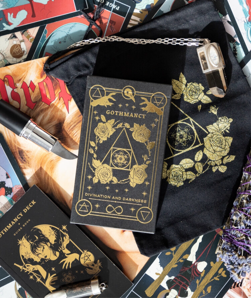 The Gothmancy Tarot Deck (Gold)