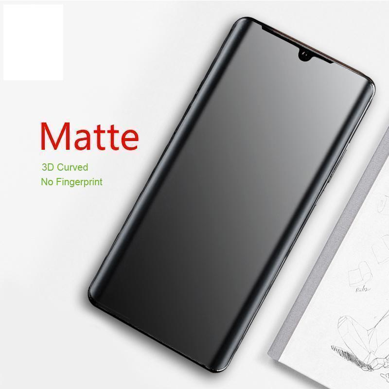 Matte Hydrogel Full Coverage Screen Protector with Frosted Surface Anti fingerprint for Huawei P30 P30Pro Mate 20 Mate 20Pro Mate 20X P20 P20Pro Mate10Pro(2 Pack)