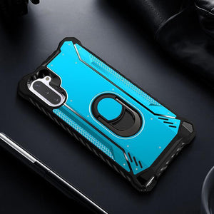 Metal Ring Kickstand 360 Degree Rotatable Phone Case Cover for Samsung S10 S20 Note 10 Series