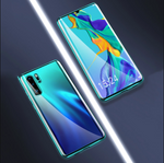Upgraded Two Side Tempered Glass Magnetic Adsorption Phone Case for Huawei P30 P30Pro P30Lite P40 Pro Lite Mate 20 Pro Lite