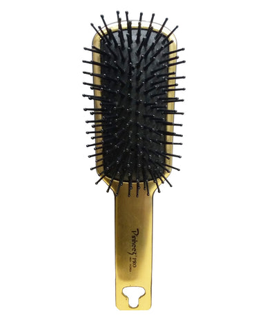 Pinkees Golden Touch Paddal Hair Brush