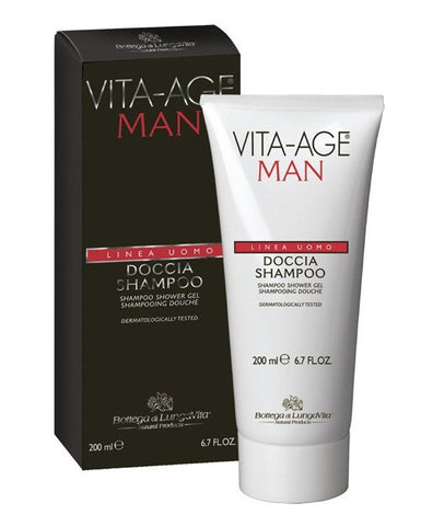Bottega Di Lungavita Shampoo Shower Gel-Man (200Ml)