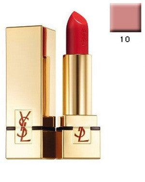YVES SAINT LAURANT ROUGE PURE SHINE LIPSTICK-10-3.4GM