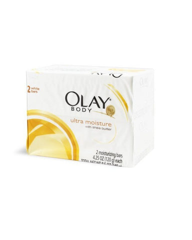 Olay Ultra Moisture With Shea Butter 2 White Bars