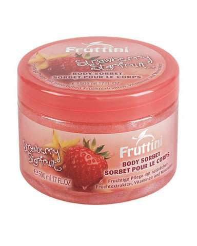 FRUTTINI STRAWBERRY STARFRUIT BODY SORBET