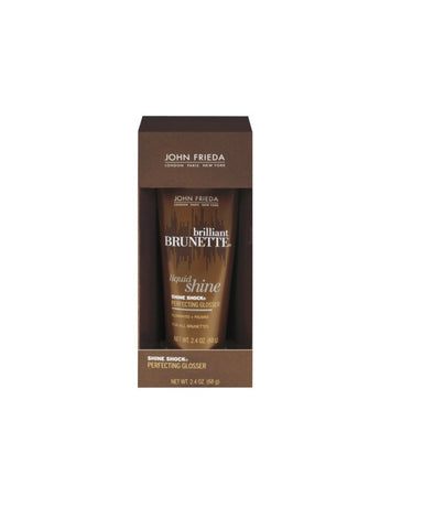 JOHN FRIEDA BRILLIANT BRUNETTE LIQUID SHIINE PERFECTING GLOSSER HAIR CREAM FOR ALL BRUNETTES HAIR-Unisex